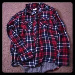 Fall Plaid Button Up